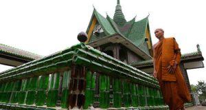 El templo construido a base de cascos de cerveza
